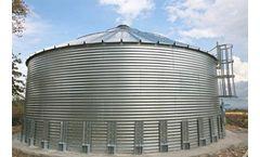 CCI - Custom Galvanized Steel Water Storage Tanks
