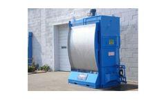 Uni-Wash - Model FCB - Flood Curtain Booth Dust Collectors