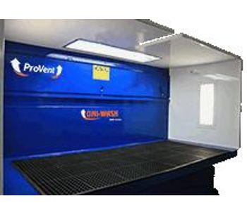 Uni-Wash - Model DDB - Wet Type Downdraft Benches