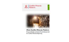 iPoint Conflict Minerals Flyer