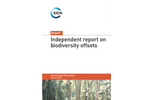 Independent Report on Biodiversity Offsets  Brochure