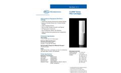 Claris® Series Filter Cartridges Brochure (PDF 47 KB)