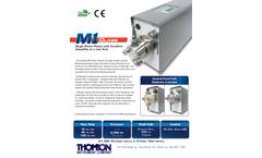 Thomson - Model M1 Series - High Pressure Pumps Brochure