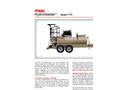 Finn HydroSeeder - Model T75T - 700 Gallon Working Capacity Tank - Datasheet