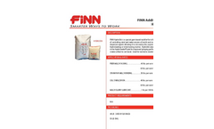 FINN - HydroStik Additive System - Specification Sheet