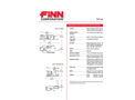 FINN - Model B70 - Straw Blowers - Shreds and Blows 6-7 Tons of Straw Per Hour - Technical Specifications Datasheet