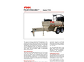Finn HydroSeeder - Model T90 - 800 Gallon Working Capacity Tank - Datasheet