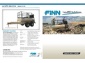 Finn HydroSeeder - Model LF120 - Landfill Machine - Brochure