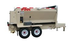 FINN - Model BB 5-Series - Bark & Mulch Blower with 5 Cubic Yard Hopper