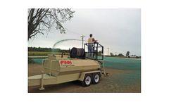 FINN HydroSeeder - Model T75T - HydroSeeder - 700 Gallon Working Capacity Tank