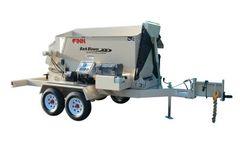 FINN - Model BB302 - Bark and Mulch Blower - 1.5 Cubic Yard Hopper Capacity