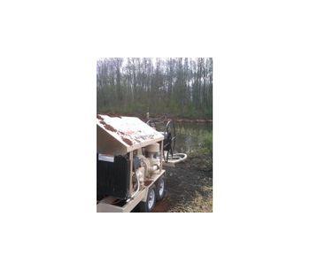 Bark & Mulch Blower - 1.5 Cubic Yard Hopper Capacity-2