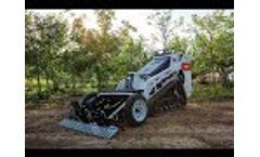 Finn GM45 Ground Prep Attachments Mini Skid Steer - Video