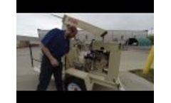 Finn B70 Straw Blower Start Up - Video