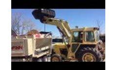 FINN BB 5-Series Bark & Mulch Blower - Video
