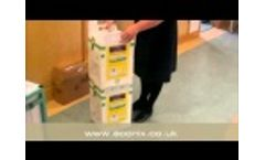 Bio-bin 30Ltr Clinical Waste Container Video