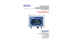 Oxygen Deficiency Monitor Manual, 0-25% SAM