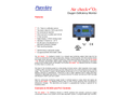 Oxygen Monitor Literature- PureAire