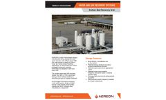 AEREON - Carbon Bed Vapor Recovery Unit (VRU) - Product Datasheet