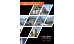 AEREON Vapor Control Systems for the Liquid Loading Terminals - Brochure