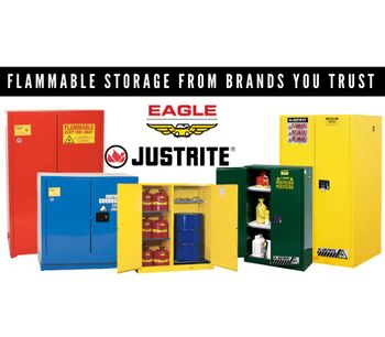 Interstate Products Inc. (IPI) Eagle Flammable Storage Cabinets - Protection for Your Flammable Fluids