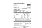 Total Solution - Model AL-8307 - Graffiti Remover Gel Aerosol Spray - 12 Cans/Case - MSDS