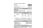 Total Solution - Model AL-8378 - Aerosol Orange Away Natural Cleaner - MSDS
