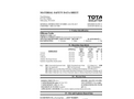 Total Solution - Model AL-8102 - Silicone Lube - MSDS