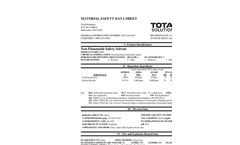 Total Solution - Model AL-8200 - Non-Flammable Safety Solvent Spray - MSDS