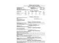 Terand - Model CP-965 - Rust Exterminator Aerosol Spray - MSDS