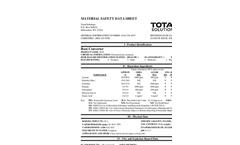 Total Solution - Model AL-8346 - Rust Converter Aerosol Spray - MSDS