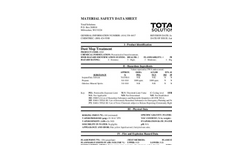 Total Solution - Model AL-8302 - Dust Mop Treatment - Oil Based Spray - MSDS