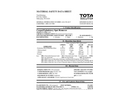 Total Solution - Model AL-8410 - Carpet and Upholstery Spot Remover Spray - MSDS