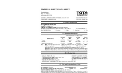 Total Solution - Model AL-8211 - Graphite Lubricant Aerosol Spray - 12 Cans/Case - MSDS