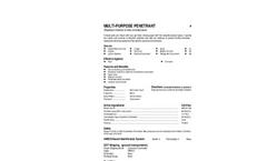 Total Solution - Model AL-8101 - Multi Purpose Penetrant Aerosol Spray - 12 Cans/Case - SpecSheet