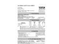 Total Solution - Model AL-8101 - Multi Purpose Penetrant Aerosol Spray - 12 Cans/Case - MSDS