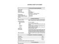 Terand - Model CP-515/6 - Aerosol De-Icer Spray 6 Cans/Case - MSDS