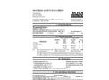 Total Solution - Model AL-8209 - Windshield Deicer Aerosol Spray - 12 Cans/Cas - MSDS
