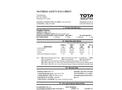 Total Solution - Model AL-8550 - Engine Starter Aerosol Spray - 12 Cans/Case - MSDS