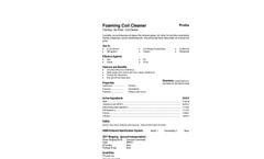 Total Solution - Model AL-8021 - Aerosol Foaming Coil Cleaner - SpecSheet