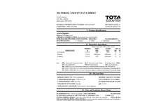 Total Solution - Model AL-8304 - Aero-Squirt All Purpose Cleaner Spray - MSDS