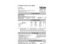 Total Solution - Model AL-8312 - Glass Cleaner Aerosol Spray - MSDS