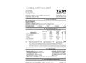 Total Solution - Model AL-8316 - Oven Cleaner Aerosol Spray - MSDS