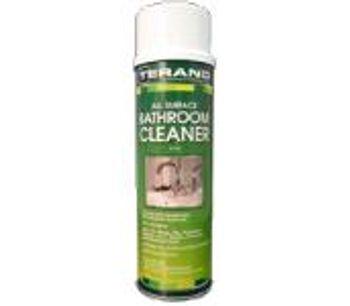 All Surface Bathroom Cleaner Aerosol Spray - 12 Cans/Case