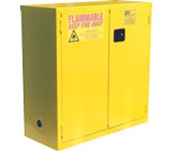 JAMCO - Model BS30YP - 30 Gal Flammable Safety Cabinet - Self Close