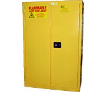 JAMCO - Model BM45YP - 45 Gal. Flammable Cabinet - Manual Close