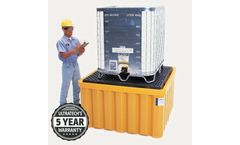 UltraTech - Model UT-1057 - IBC Spill Containment Pallet without Drain