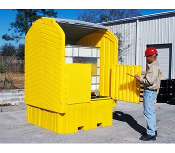 IBC HardTop Containment System - with Drain-4