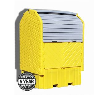 UltraTech - Model 1161 - IBC HardTop Containment System - with Drain