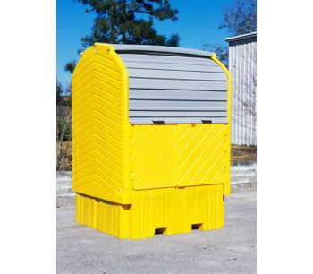IBC HardTop Containment System - with Drain-1